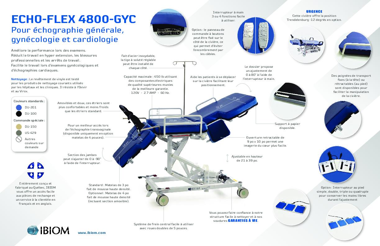 Echo flex 4800 GYC