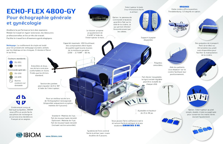 Echo flex 4800 GY