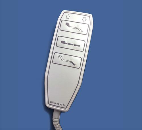 ECHO-FLEX 4400-GY hand controller