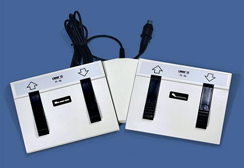 ECHO-FLEX 4400-GY double foot controller