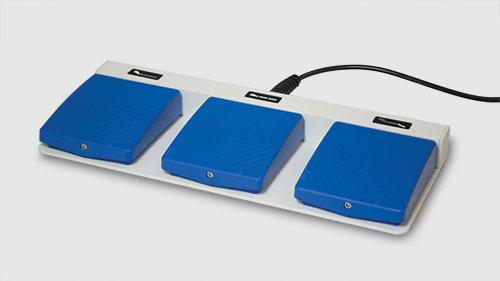 ECHO-FLEX 4400-GY triple foot controller