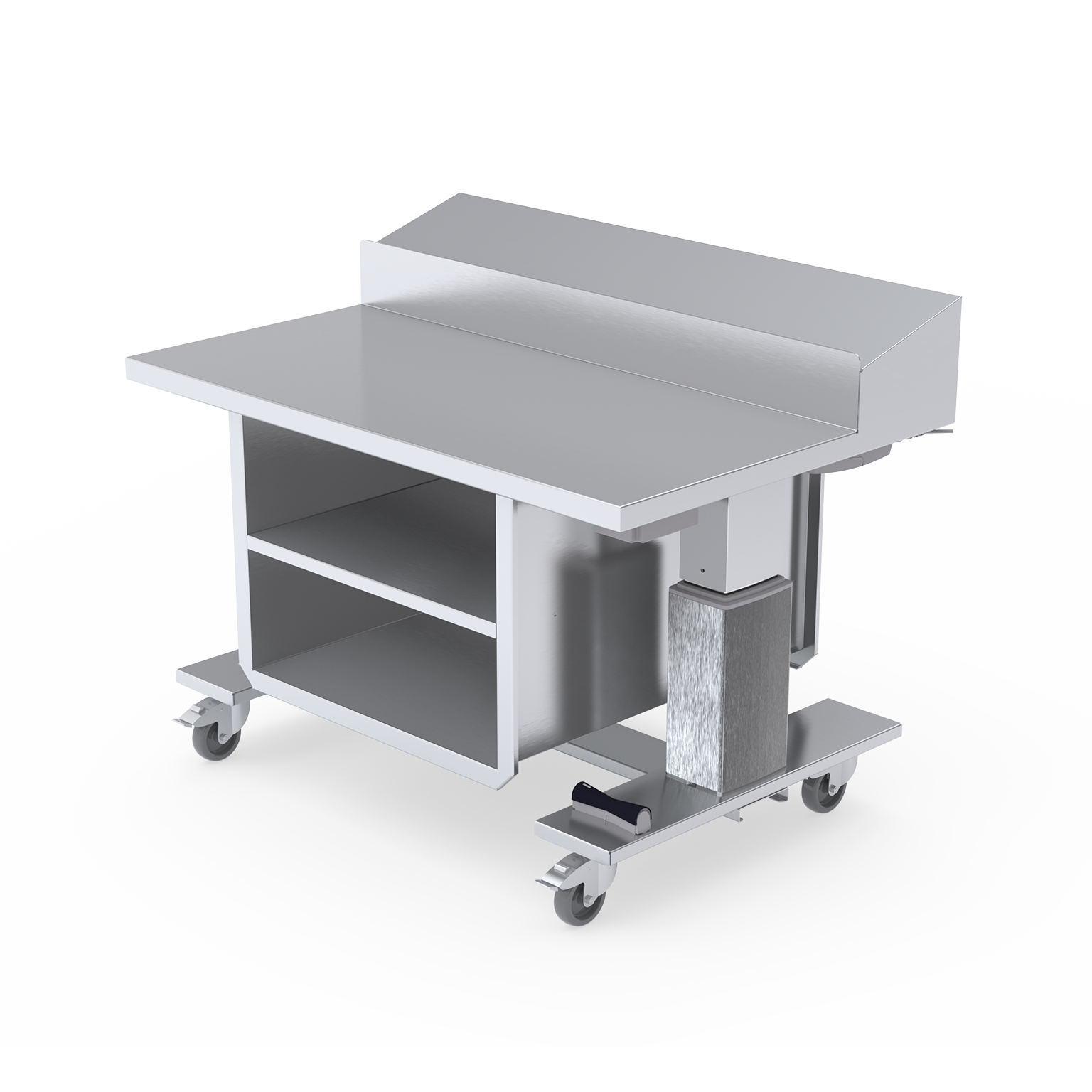 T0-6000 and T0-7000 adjustable instrument tables for the operating room